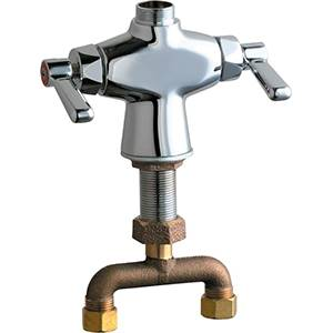 Chicago Faucets - 50-TLESAB - Single Hole Deck Mounted Faucet