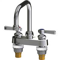 Chicago Faucets - 526-E2CP - 4-inch Deck Mounted Service Sink Faucet
