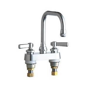 Chicago Faucets - 526-XKCP - 4-inch Deck Mounted Sink Faucet