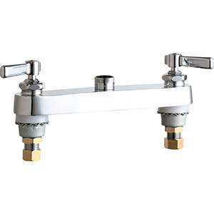 Chicago Faucets - 527-LESAB - 8-inch Deck Mounted Sink Faucet