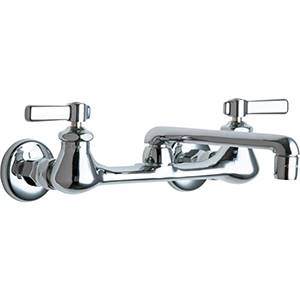 Chicago Faucets - 540-LDWXFCP - Wall Mounted Service Sink Faucet