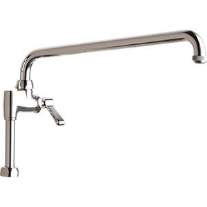 Chicago Faucets - 613-AL15E1ABCP - Pre-Rinse Adapta Faucet (Add on Faucet)