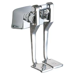 Chicago Faucets - 625-LPSLOCP - Foot Pedal Valve