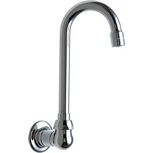 Chicago Faucets - 629-E3CP - Wall Mounted Spout