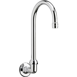 Chicago Faucets - 629-GN2AE3CP - Wall Mounted Spout