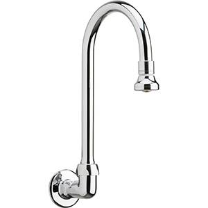 Chicago Faucets - 629-GN2BE4ABCP - Wall Mounted Spout