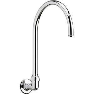 Chicago Faucets - 629-GN8FCABCP - Wall Mounted Spout