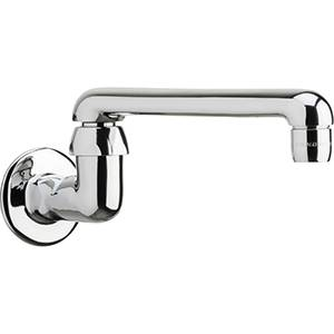 Chicago Faucets - 629-S6CP - Wall Mounted Spout