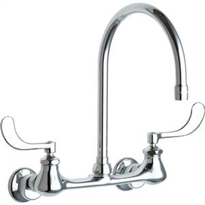 Chicago Faucets - 631-GN8AE3ABCP - Sink Faucet