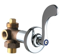 Chicago Faucets - 769-317COLDCP - Wall Valve