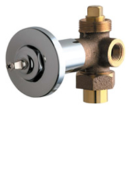 Chicago Faucets - 769-LESSHDLCP - Wall Valve