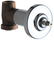Chicago Faucets - 770-LESSHDLCP - In-Wall Control Valve