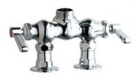 Chicago Faucets - 772-LESSSPTCP - 3-3/8-inch Center Deck Mounted Sink Faucet, No Spout