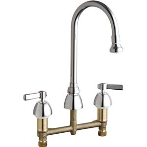 Chicago Faucets - 786-369CP - Widespread Lavatory Faucet