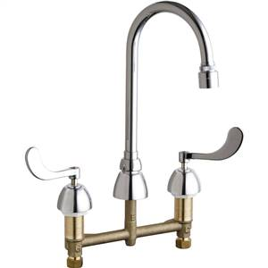 Chicago Faucets - 786-E29VPABCP - Widespread Lavatory Faucet