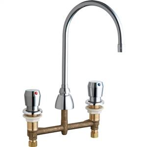 Chicago Faucets 786-E35-665ABCP - LAVATORY FAUCET METERING