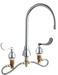 Chicago Faucets 786-HZGN8AE3-317CP - CONCEALED KITCHEN SINK FAUCET