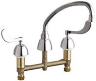 Chicago Faucets 786-RSL9E35VP317XKCP - CONCEALED KITCHEN SINK FAUCET