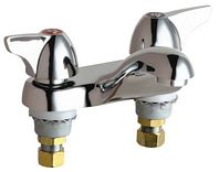 Chicago Faucets - 802-1000XKCP - 4-inch Center Lavatory Faucet