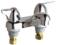 Chicago Faucets - 802-V1000CP - 4-inch Center Lavatory Faucet