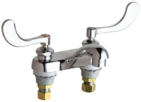 Chicago Faucets - 802-V317XKCP - 4-inch Center Lavatory Faucet