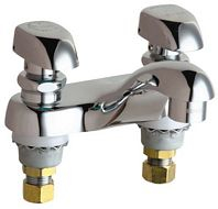 Chicago Faucets - 802-V335CP - 4-inch Center Lavatory Faucet