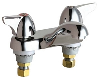 Chicago Faucets - 802-VE2805-1000CP - 4-inch Center Lavatory Faucet