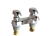 Chicago Faucets - 802-VE2805-335CP - 4-inch Center Lavatory Faucet