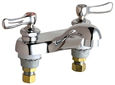 Chicago Faucets - 802-VE2805ABCP - E-Cast Lead Free Faucet