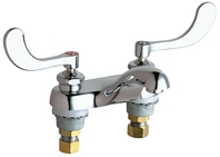 Chicago Faucets 802-VE34VP317ABCP - LAVATORY FAUCET,DECK MNTD 4 -inchCC