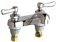 Chicago Faucets - 802-VXKCP - Lavatory Fitting, Deck Mounted 4-inch CCCC
