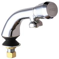 Chicago Faucets - 807-665PSHCP - Single Faucet Metering