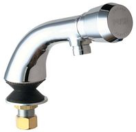 Chicago Faucets - 807-E12-665PSHCP - Single Water Inlet Fitting, Metering