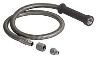 Chicago Faucets 83-44NF 44-Inch Stainless Steel Pre-Rinse Spray Hose & Handle Assembly