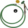 Chicago Faucets 8305-NF - Deck Mounted Single Outlet Eye/Face/Body Drench Hose