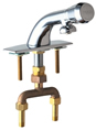 Chicago Faucets - 844-665PSHABCP - Lavatory Faucet Metering