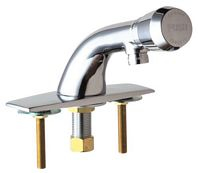 Chicago Faucets - 857-E12-665PSHCP - Lavatory Faucet Metering