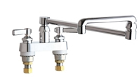 Chicago Faucets - 891-DJ18ABCP - Bar Sink Faucet