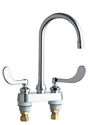 Chicago Faucets - 895-317GN2AE3XKCP - Lavatory/Bar Faucet