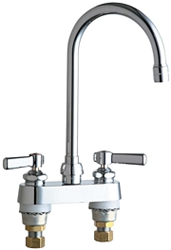 Chicago Faucets - 895-GN2AE3CP - Lavatory/Bar Faucet