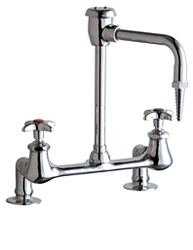 Chicago Faucets - 947-GN8BVBE7CP - Laboratory Sink Faucet