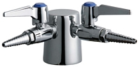 Chicago Faucets - 982-DSVR909CAGCP - Double Service Turret Fitting