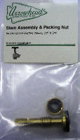Arrowhead PK1130 Stem Assembly Packing Nut & Bonnet for Old Style 1/2 Garden Valves