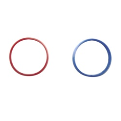 American Standard 12205-0070A - Red & Blue Hdle Ring Kit