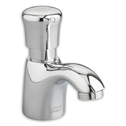 American Standard 1340.109 - Pillar Tap Metering Faucet with Extended Spout, 1.5 gpm