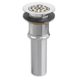 American Standard 2411.015 - Commercial Grid Drain with Overflow