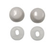 American Standard 34783-0200A - White Bolt Cap Cover Kit