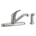 American Standard 4175.501 - Colony Soft 1-Handle Kitchen Faucet with Separate Side Spray