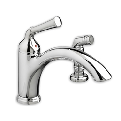 American Standard 4285.001 - Portsmouth 1-Handle Kitchen Faucet with Side Spray