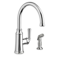American Standard 4285.051 - Portsmouth 1-Handle High-Arc Kitchen Faucet with Side Spray